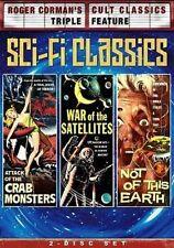 Roger Corman Sci Fi Classics 0826663119787 With Richard Garland DVD Region 1