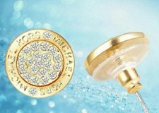 Le donne eleganti lusso famoso marchio rotondai orecchini a perno argento Fashion