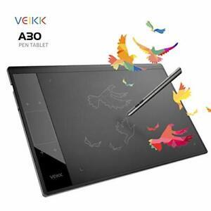 Tableta 10x6 A30 Pluma De Dibujo Digital Para Graficos Grafica Digitalizadora US