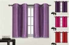 1 Set (D24) Window Dressing Lined Blackout Grommet Panel Curtain Treatment