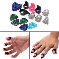 Guitar Accessories Silicone Fingertip Protectors Guitar Finger Pick Plectrum PCA