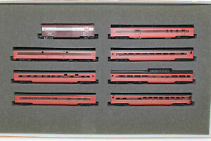"N Scale Con-Cor 041002 Special Edition Pennsylvania ""Loewy"" Colors 8-Car Set"