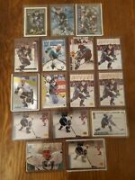 Paul Kariya Lot of (16)cards and inserts! Excellent Shape!Anaheim Mighty Ducks!