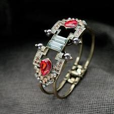 Bracelet Femme Rouge Original Vitage Ancien Style  Soirée Mariage Cadeau CT6