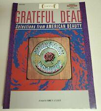 Grateful Dead American Beauty Guitar Tab Songbook Tablature Music Book