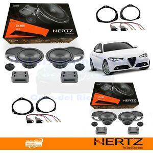 Hertz CK165 + CK165 Casse Altoparlanti Ant + Post Alfa Romeo GIULIA