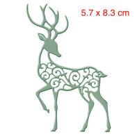 Cutting dies Deer dies Embossing DIY Scrapbook Paper kits Handcraft Decor