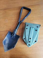 US Military Issue AMES Entrenching Trifold Folding E-tool Shovel  1976