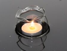 4x schwimmende GlasTeelicht - Kugeln für den Teich / schwimmendes Windlicht