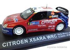 1/43 CITROEN XSARA WRC CARLOS SAINZ RALLY MEXICO 2004 IXO ALTAYA DIECAST