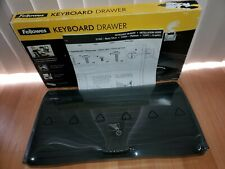 Fellowes Under Desk Keyboard Drawer CRC 91403 With Wrist Support & Mouse Support