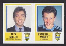 Panini - Football 85 - # 520 Miller / Money - St Mirren