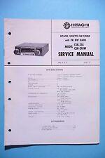 MANUEL DE REPARATION POUR Hitachi csk-218, original