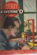 SYSTEME D n°107   un stylo graveur
