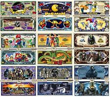 WHOLESALE SPECIAL 1000 FUNNY MONEY NOVELTY NOTES - READ DETAILS
