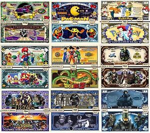 WHOLESALE SPECIALS FOR 500+ FUNNY MONEY NOVELTY NOTES - READ FULL DESCRIPTION