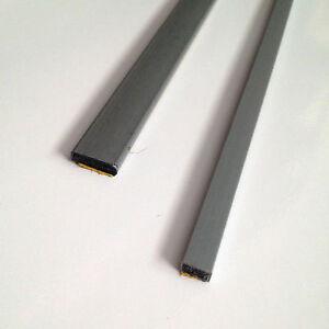 Intumescent Fire Door Strip Seals - Single Door Set - Grey