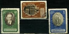 Russia 1951 SG 1702-4 5 Anniversery of death of President Kalinin Used Set