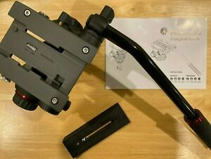 Manfrotto MVH502AH Pro Video Head with Flat Base, Box, Owners manual, Excellent