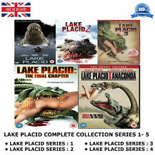 LAKE PLACID Pentalogy 1-5 Complete Collection 1 2 3 4 5 New Sealed Region 2 DVD