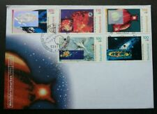Germany Cosmos & Galaxy 1999 Space Astronomy (FDC) *hologram *unusual