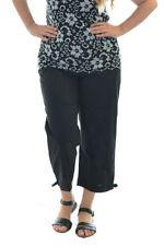 Damenhosen mit mittlerer Bundhöhe und Übergröße für den Sommer