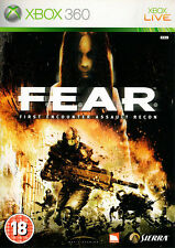 Fear: Premier ENCOUNTER ASSAULT RECON ~ XBOX 360 (en en BONNES CONDITIONS)