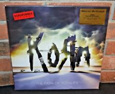 KORN - The Path Of Totality, Ltd 1st Press 180G COLORED VINYL Foil #'d Gatefold
