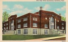New High School Gymnasium in Dyersburg TN Postcard