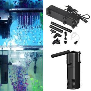 Aquarium Internal Submersible Fish Tank Filter - Spray Bar Filtration Pump
