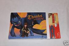 NEW HOW TO TRAIN YOUR DRAGON 8 THANK YOU NOTES PARTY SUPPLIES