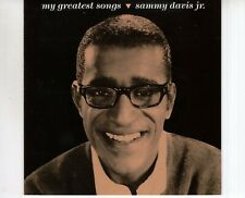 CD SAMMY DAVIS JR	my greatest songs	GERMAN EX (R1831)