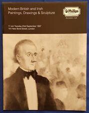 Phillips - Modern British & Irish Paintings, Drawings & Sculpture September 1997