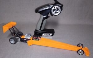1/24 R/C  Micro-Rail top fuel dragster ARTR- Orange