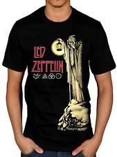 Official Led Zeppelin Hermit T-Shirt Stairway To Heaven Hermit Punk Rock Indie