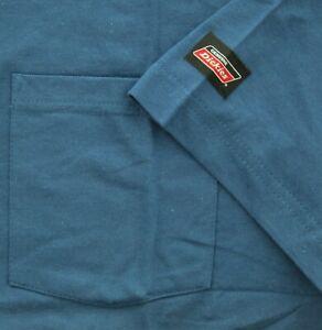 Dickies Men's T-Shirt Short Sleeve Long Length Lightweight Cool & Dry Pocket Tee