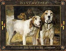 Winchester Rifles Shotguns For Sale Here TIN SIGN Metal Vintage Poster Ad
