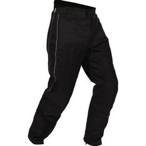 Buffalo Coolflow ST Waterproof Mesh Motorcycle Motorbike Trousers Black