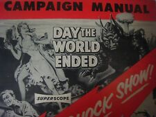 Pressbook..'' Day the World Ended ''..'' Phantom from 10,000 Leagues ''