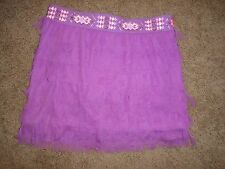 Girls Justice Skirt With Tull Size 18