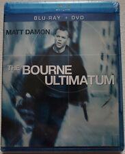 NEW SEALED THE BOURNE ULTIMATUM BLU RAY DVD 1 DISC SET FREE WORLDWIDE SHIPPING