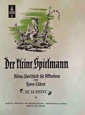 H. Lüders - Der kleine Spielmann - Kinderlieder, Tänze und kleine Spielstücke