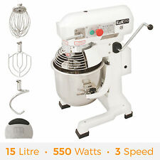 15L Commercial Food Spiral Mixer Dough Stand Planetary Cake Bakery Equipment