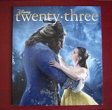 Disney Twenty Three Magazine Spring 2017 Beauty and the Beast D23 Mint Condition