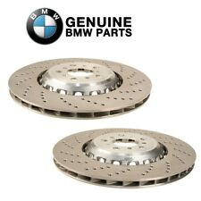 NEW Pair Set of Front Left and Right Disc Brake Rotor For BMW F10 F12 F13 M5 M6