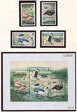 Thailand, Scott 1697-1700 1700a, Birds, 1996, NH