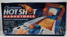 Electronic Hot Shot Basketball Arcade Game Milton Bradley 1990 VINTAGE COMPLETE
