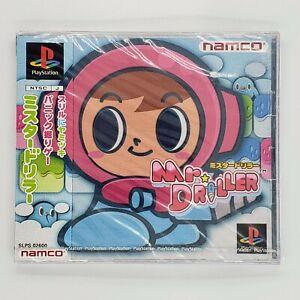 Mr. Driller Sony PlayStation PS1 Bandai Japan Import US Seller New Sealed