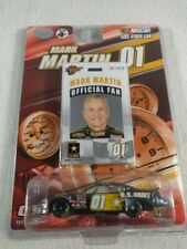 2007 Winners Circle Mark Martin #01 U.S Army Card and Car
