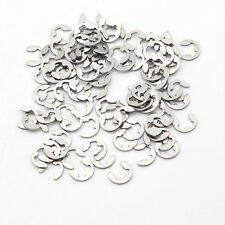 Pack of 1000pcs E-clip Washers with split 2.5mm Circlip Snap Ring 304 stainless